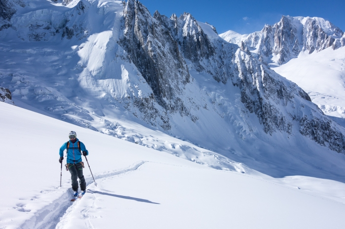Col du Tacul, SW Couloir (1 of 5)