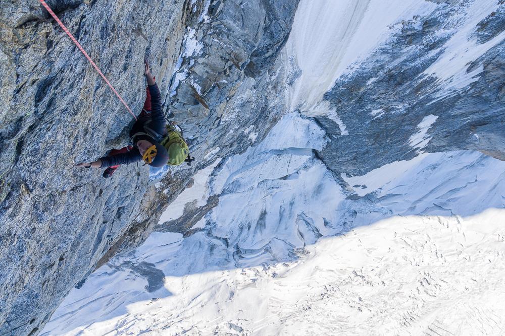 Grandes Jorasses Walker Spur Tim Oliver Alpinist