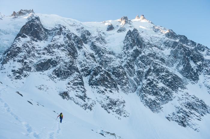 Aiguille du Midi, Jumeaux Spur (1 of 2)
