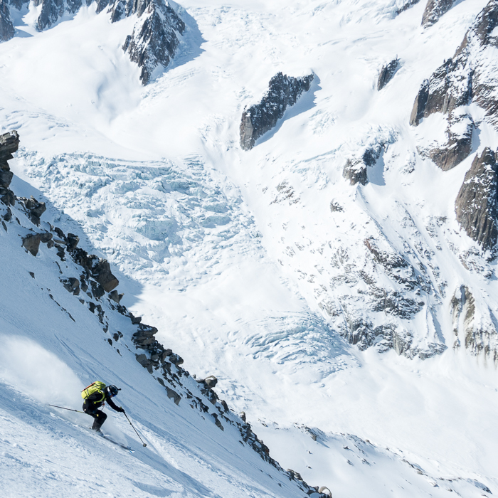 Aiguille du Tacul, NW Shoulder (6 of 10)