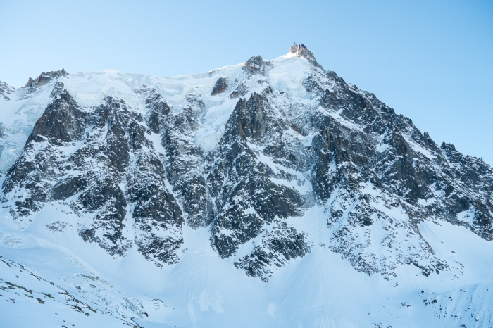 Aiguille du Midi, Frendo Spur (winter) (1 of 20)