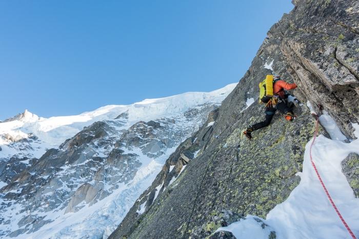 Aiguille du Midi, Frendo Spur (winter) (10 of 20)
