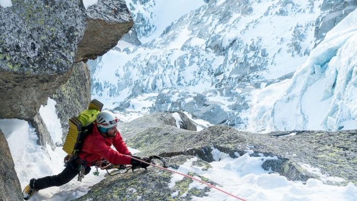 Aiguille du Midi, Frendo Spur (winter) (11 of 20)
