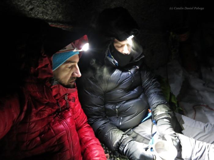 Aiguille du Midi, Frendo Spur (winter) (13.1 of 20)
