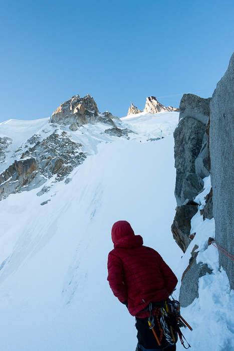 Aiguille du Midi, Frendo Spur (winter) (14 of 20)