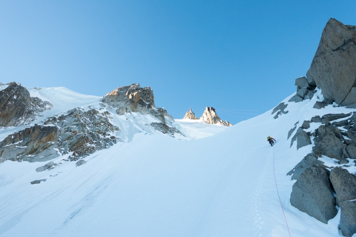 Aiguille du Midi, Frendo Spur (winter) (15 of 20)