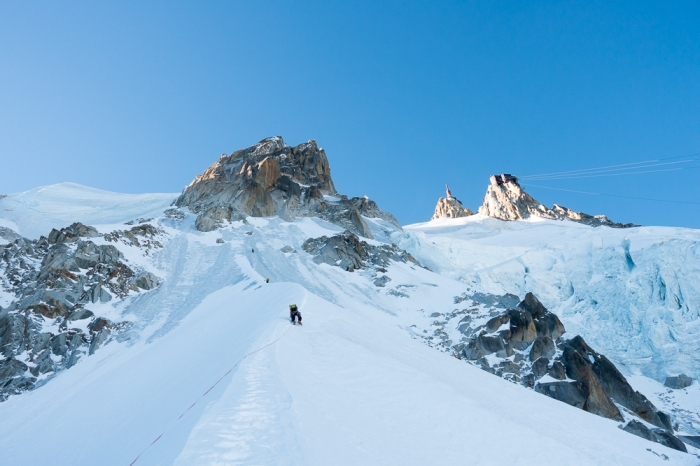 Aiguille du Midi, Frendo Spur (winter) (16 of 20)
