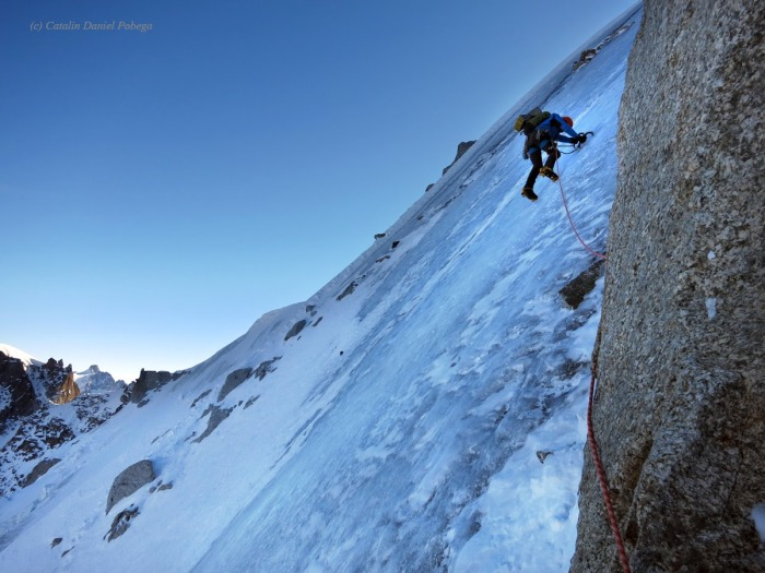 Aiguille du Midi, Frendo Spur (winter) (17.1 of 20)
