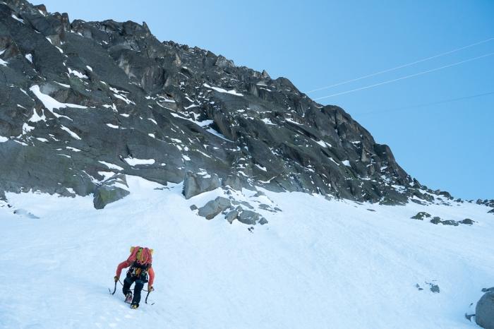 Aiguille du Midi, Frendo Spur (winter) (3 of 20)