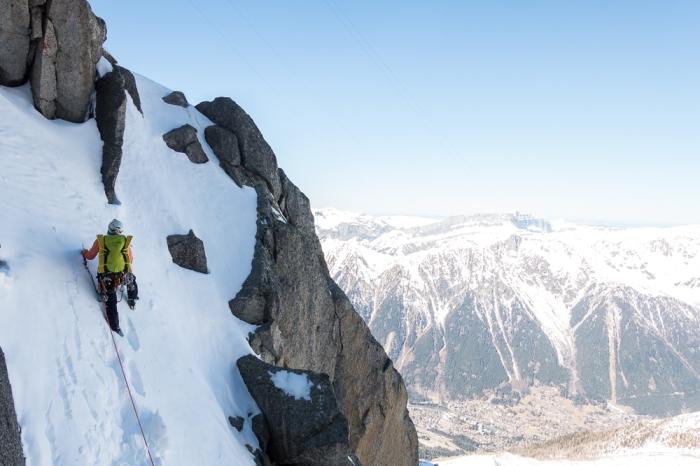 Aiguille du Midi, Frendo Spur (winter) (6 of 20)
