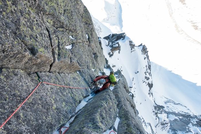 Aiguille du Midi, Frendo Spur (winter) (8 of 20)